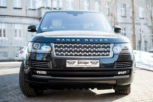 Otvorenie Range Rover - zabuchnuté kľúče v Range Rover